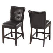 Modus Bossa Counter Height Leatherette Parsons Stool - Set of 2