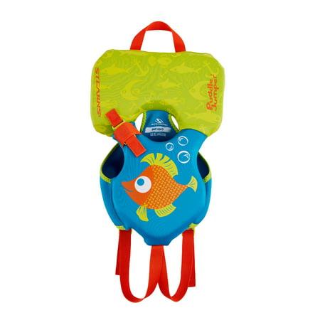 Puddle Jumper Kids Hydroprene Life Vest for Infants Under 30 Pounds, Orange