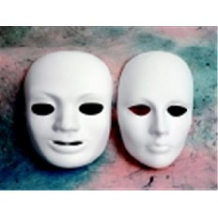 Chenille Kraft Plain Plastic Male Mask