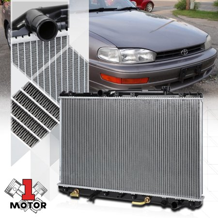 Aluminum Core Radiator OE Replacement for 92-96 Toyota Camry 2.2 Auto dpi-1318 93 94 95 ()