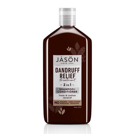 Jason Dandruff Relief 2-in-1 Treatment Shampoo and Conditioner, 12 oz. Jason Dandruff Control Shampoo