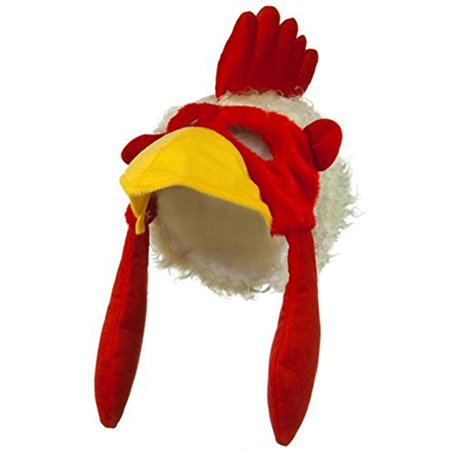 Chicken Rooster Plush Mask - Chicken Hat
