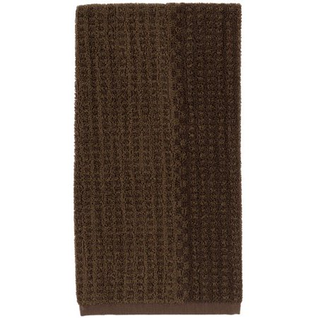 Better Homes And Gardens Two Tone Kitchen Towel Chocolate