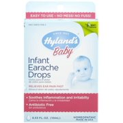 Hyland's Infant Earache Drops 0.33 oz (Pack of 2)