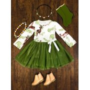 Toddler Baby Girls Kids Casual Party Princess Dress Christmas Clothes