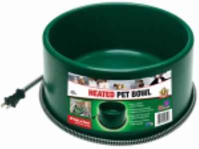 1-1 2 Gallon 60W Green Heated Pet Bowl Only One by
