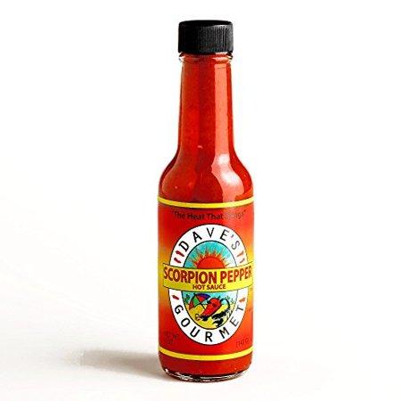 Dave's Gourmet Scorpion Pepper Hot Sauce 5 oz each (5 Items Per (Daves Hot Sauce)