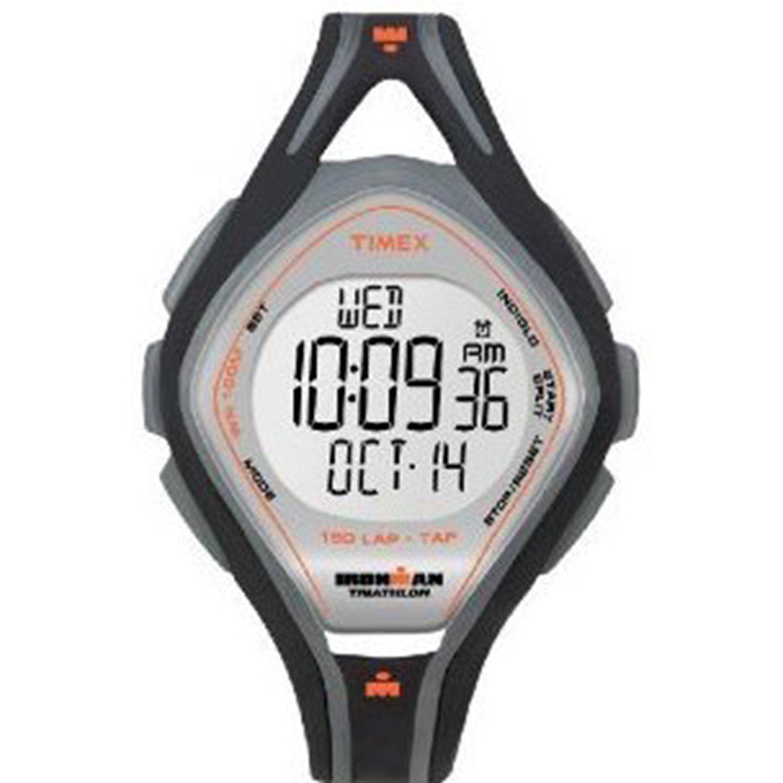 Timex Ironman T5K255 Grey Resin Quartz Sport Watch by Timex