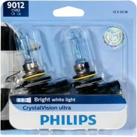 Philips Crystalvision Ultra Headlight 9012, Px22D, Clear, Always Change In Pairs!