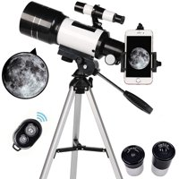 Skonyon Kids and Beginners 70mm Aperture 400mm AZ Mount Telescope with Tripod