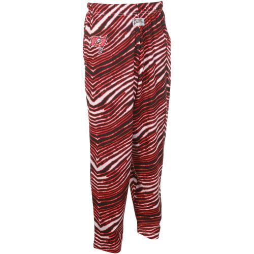 Tampa Bay Buccaneers Zubaz Pants - Black/Red