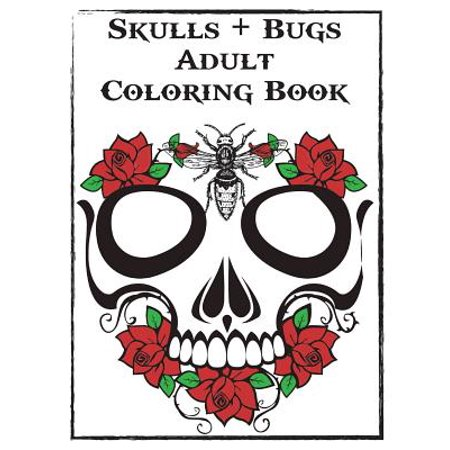 Skulls and Bugs Adult Coloring Book](Bugs Bunny Halloween Coloring Pages)