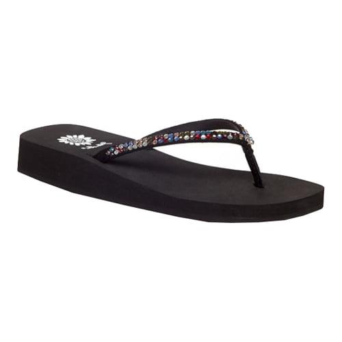 **Yellow Box Jello Sandals Black Multi Women/'s CHOOSE YOUR SIZE