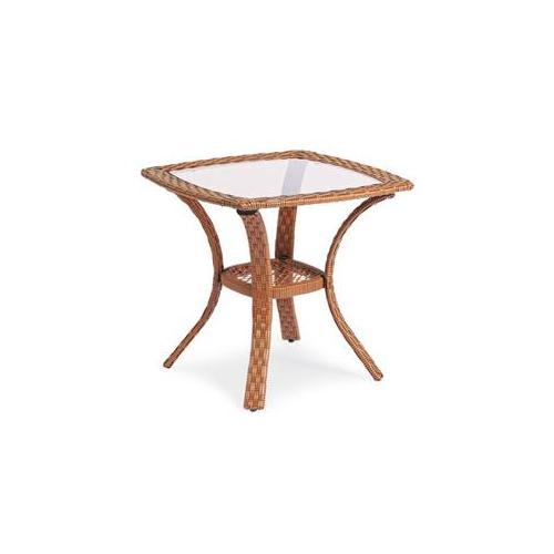 Patio Master BPC02101K03-14 24 inch Providence Square End Table