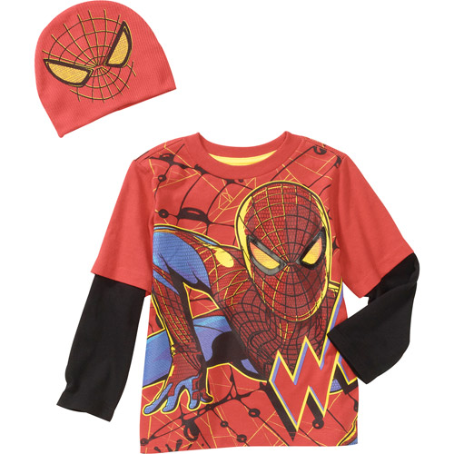 Spiderman-marvel Baby Boys' Spiderman 2-piece Hangdown An