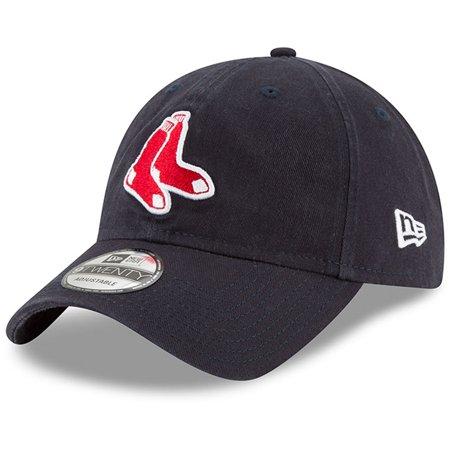 Boston Red Sox New Era Alternate Replica Core Classic 9TWENTY Adjustable Hat - Navy - OSFA ()