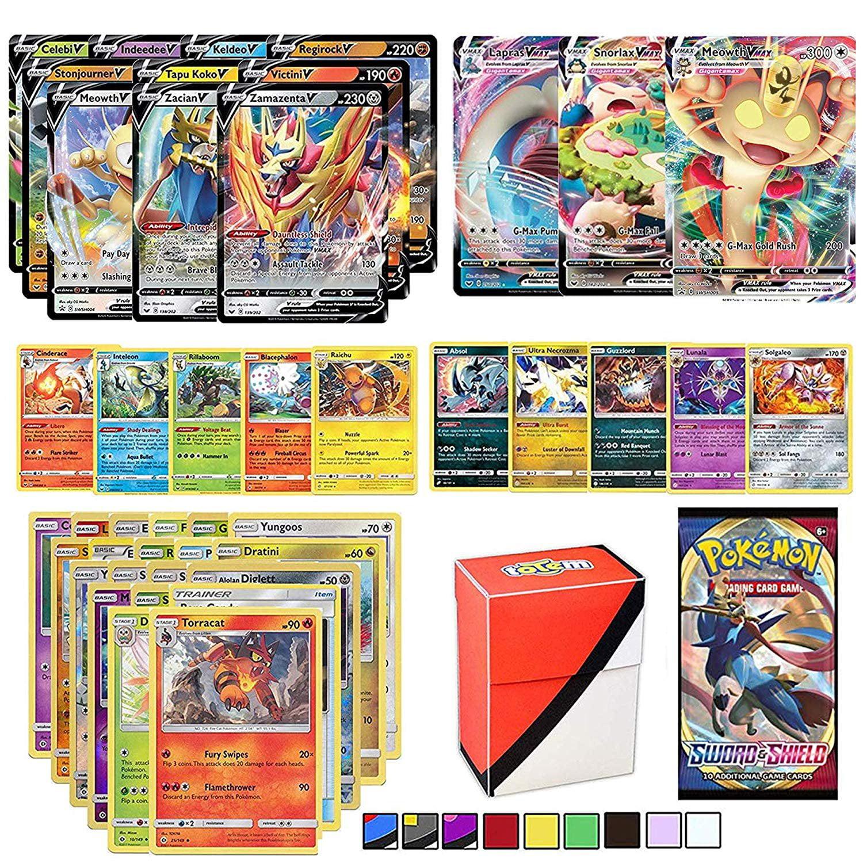 Pokemon 15 Card Mystery Pack GUARANTEED V//VMAX//GX//EX GUARANTEED HOLO RARE!