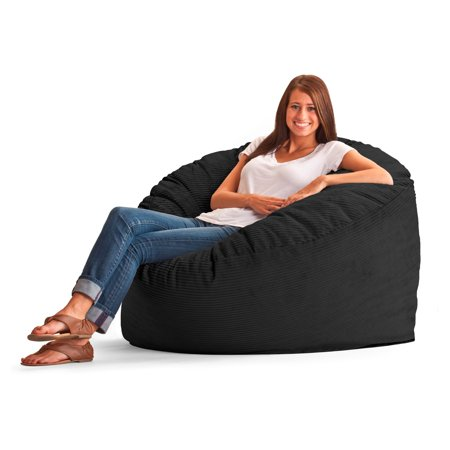 Original Fuf Chair 4 Ft Large Wide Wale Corduroy Bean Bag