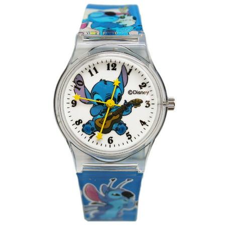 Stitch and Scrump Blue Colored Plastic Band Watch