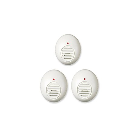 PR30-3M Ultrasonic Pest Repeller, 3 Pack By Lentek