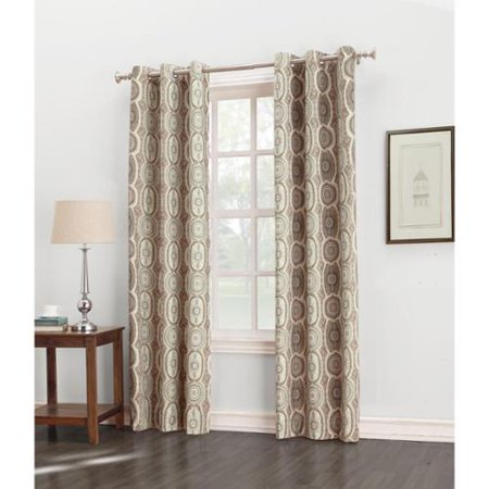 Sun zero carlene grommet thermal lined window curtain panel for Thermal windows reviews