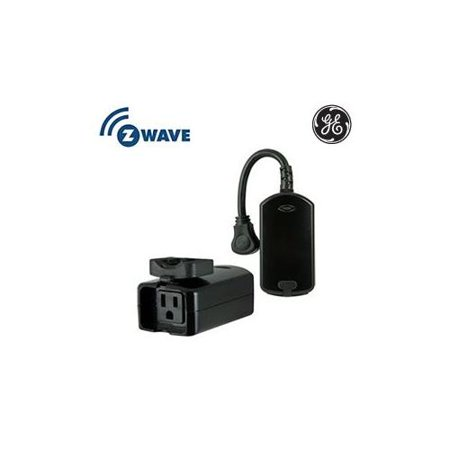 ge z wave wireless lighting control outdoor module. Black Bedroom Furniture Sets. Home Design Ideas