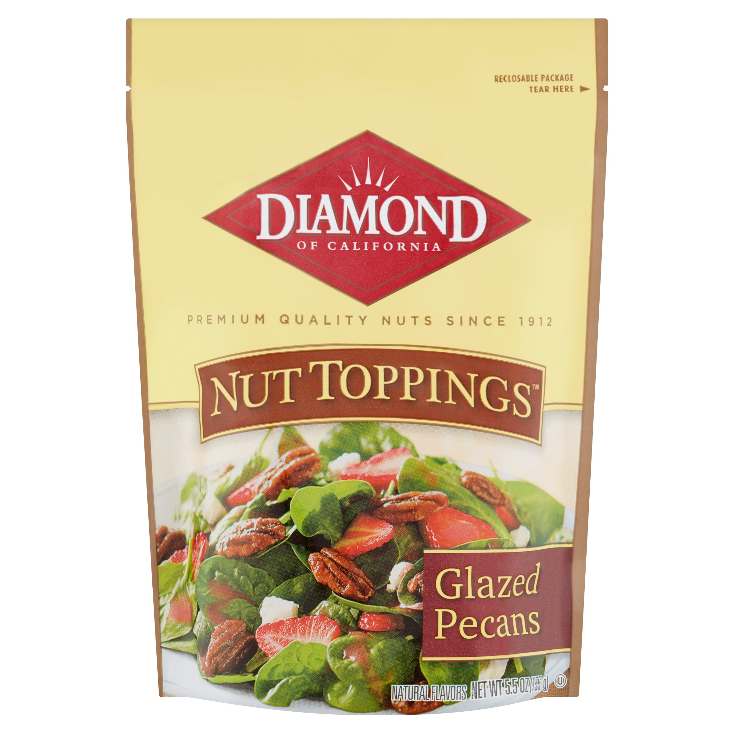 Diamond Of California Harvest Reserve Glazed Pecans, 5.5 OZ by Diamond Foods, Inc.