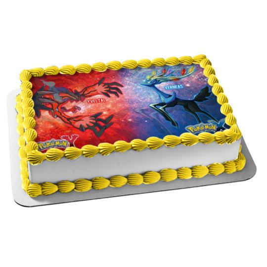 Miraculous Pokemon X And Y Edible Cake Topper Birthday Decorations Funny Birthday Cards Online Eattedamsfinfo