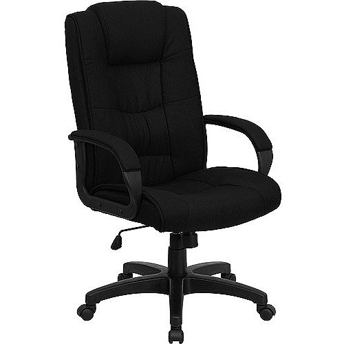 High Back Executive Fabric Office Chair Multiple Colors