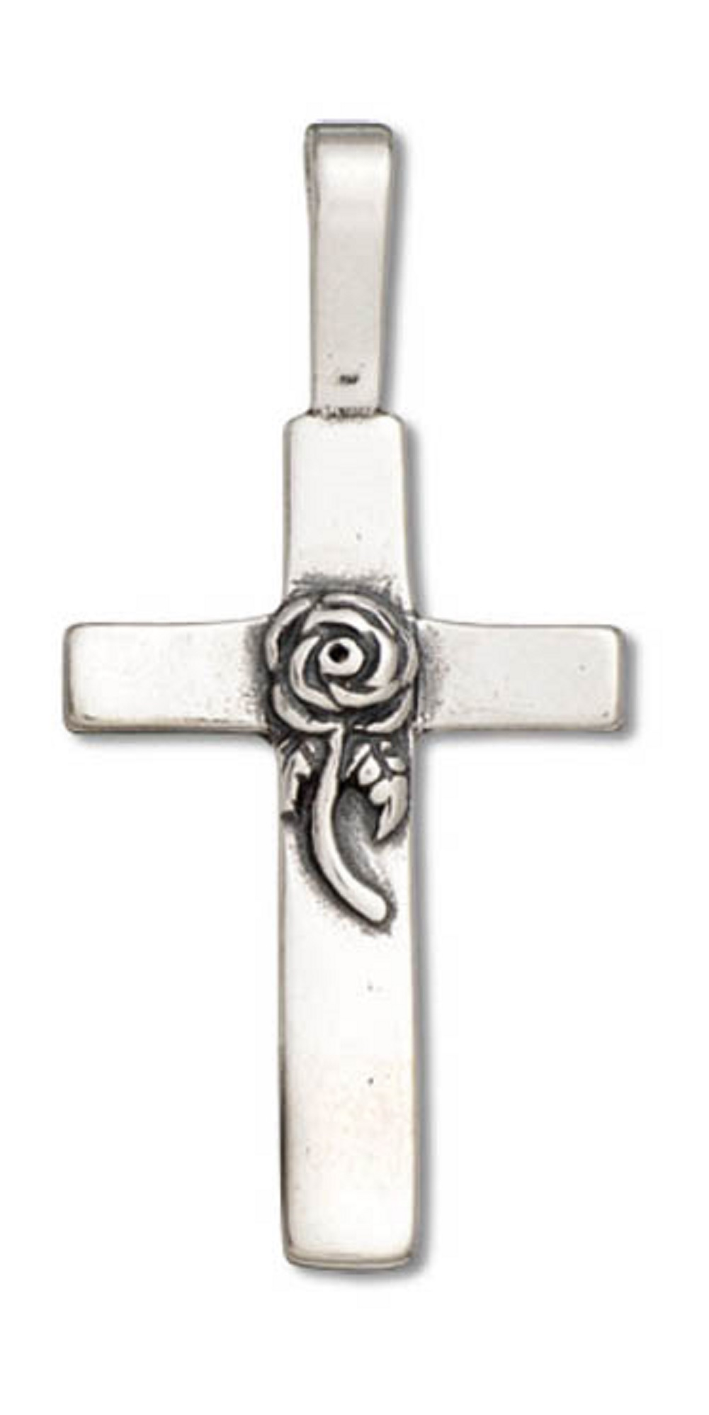 Pack of 80 Cross Charms Pendants Silver Craft Supplies for Jewelry Making for