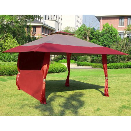 Cloud Mountain 1 Pc Wall Side Gazebo Canopy Wind And Sun Shade Privacy Panel Curtain Replacement