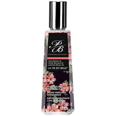 PB Premiere Editions version of La Vie est Belle* by PB ParfumsBelcam, Moisturizing Fragrance Mist for Women, 8.0 oz.