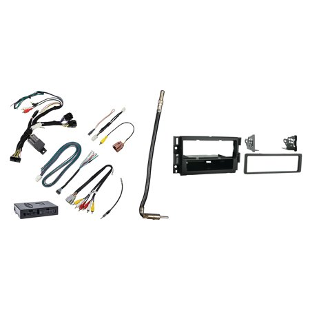 GMC Savana Full Size Van (without nav) For 2013-2015 Single DIN Metra Car Stereo Installation Package