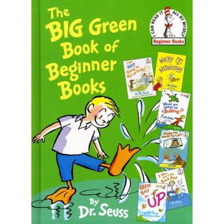 The Big Green Book of Beginner Books - Walmart.com