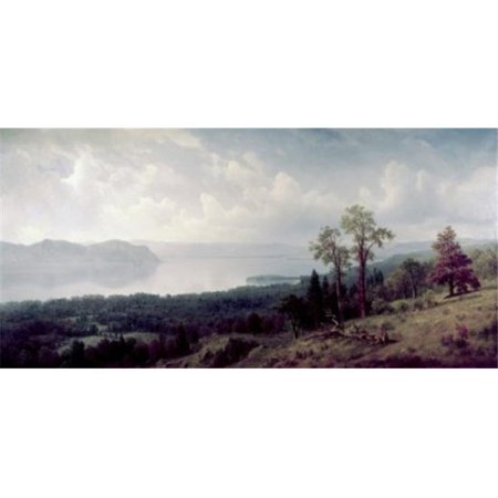 Posterazzi SAL900128643 View of the Hudson Looking Across the Tappanzee Albert Bierstadt 1830-1902 American Poster Print - 18 x 24 in. - image 1 de 1