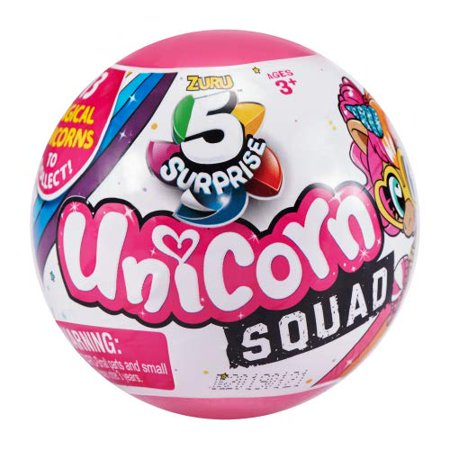 5 Surprise Unicorn Squad Blind Pack