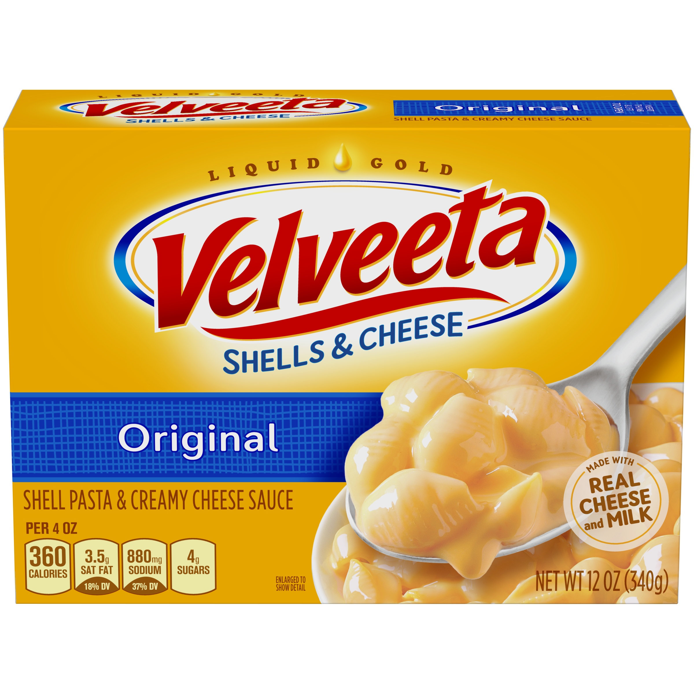Velveeta Original Shells & Cheese 12 oz. Box