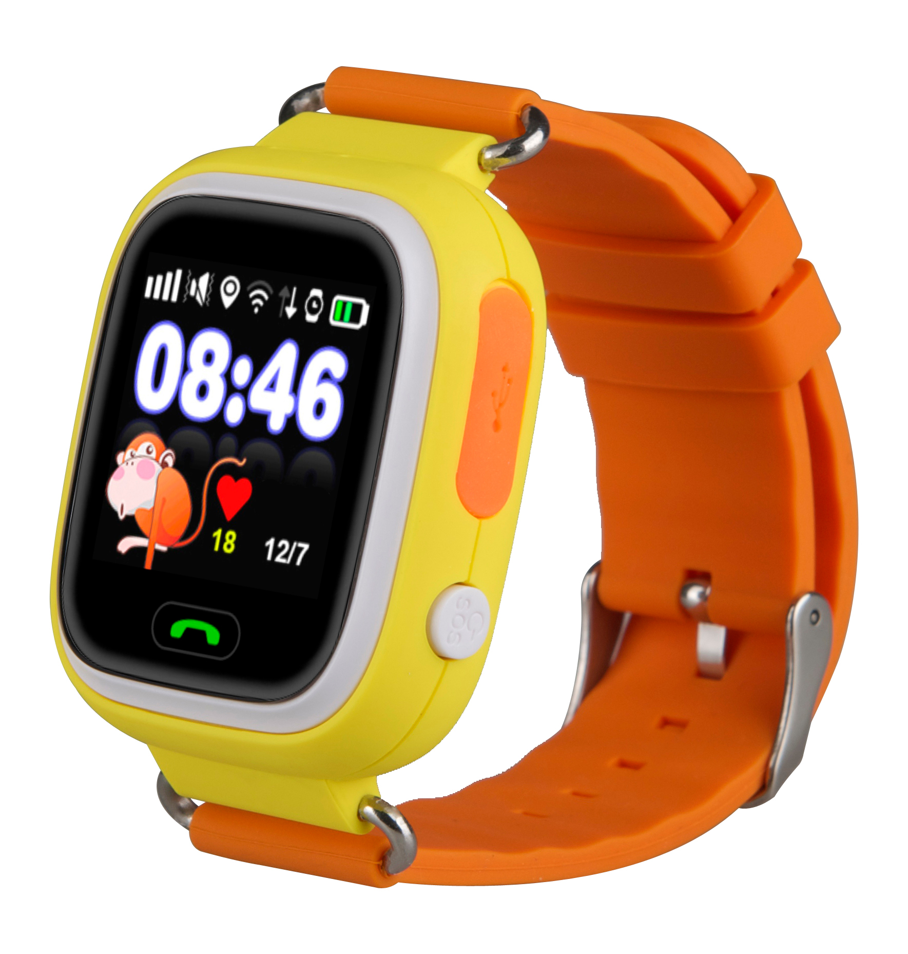 TechComm Q90 Kids GPS Smart Watch for T-Mobile only