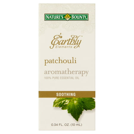Nature's Bounty® Earthly Elements Patchouli Essential Oil, 0.34 Fl -