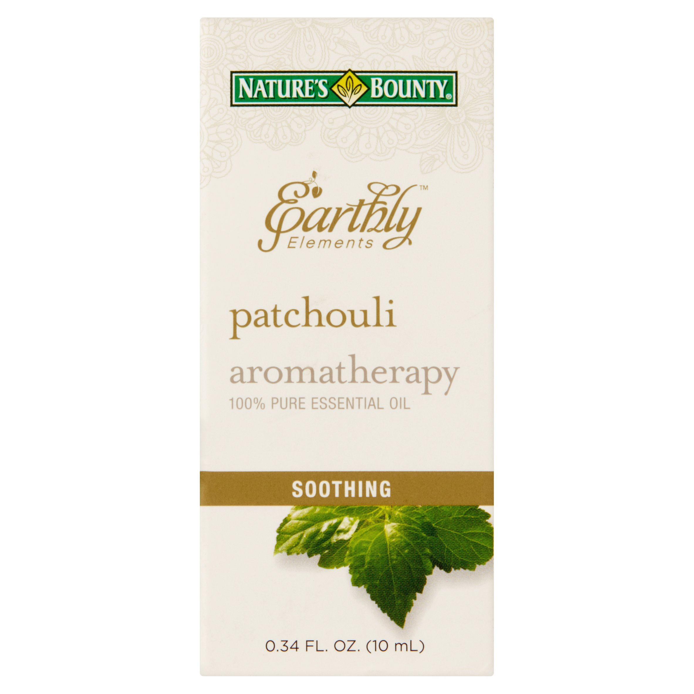 Nature's Bounty® Earthly Elements Patchouli Essential Oil, 0.34 Fl Oz.