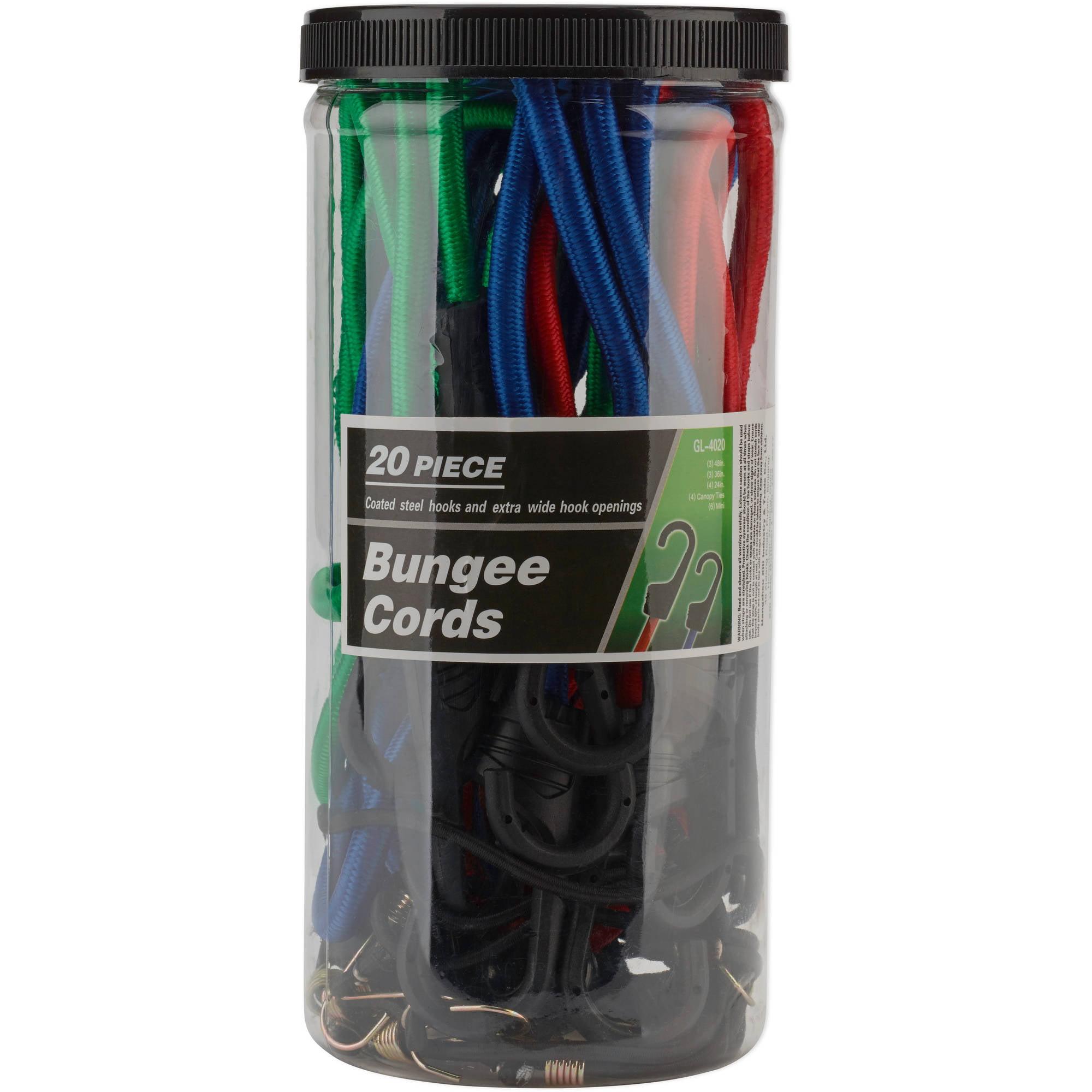 20-Piece Bungee Cord Set