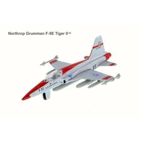 Northrop Grumman F-5E Tiger II, Silver - Showcasts 77000DT/E - 1/100 Scale Diecast Fighter Plane (Brand New but NO BOX)