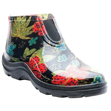 08 Dc Boot (Sloggers Women's Rain & Garden Ankle Boots)