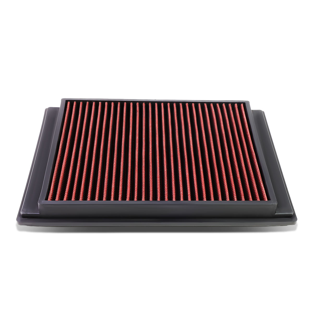 For 05 09 Land Rover Lr3 Ranger Sport Reusable Washable 2005 Engine Diagram Replacement High Flow Drop In Air Filter Red