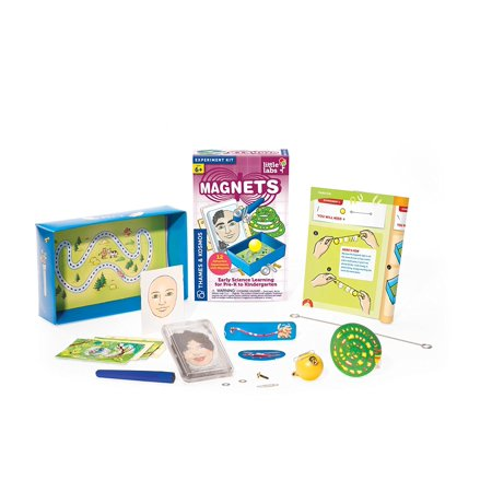 Thames and Kosmos Little Labs Magnets Science Kit, Discover the invisible world of magnetic forces By Thames Kosmos Ship from US](Thames And Kosmos)