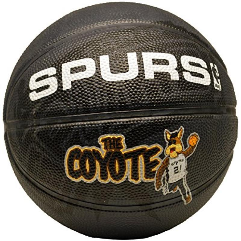 Spalding NBA San Antonio Spurs Team Mascot Mini Basketball
