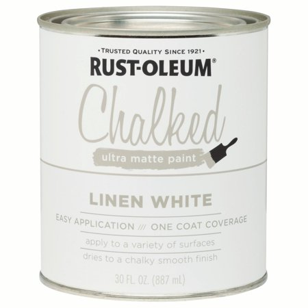 Linen White, Rust-Oleum Chalked Ultra Matte Paint, 30
