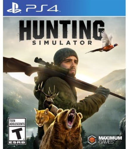 Hunting Simulator, Maximum Games, PlayStation 4, 814290013974