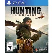 Hunting Simulator, Maximum Games, PlayStation 4, 814290013974