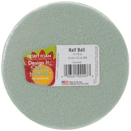 Design It Dry Foam Half Ball 5in Green Walmart Com